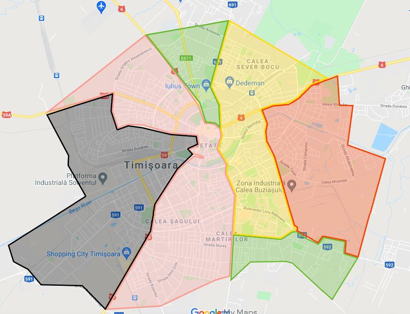 hartă interactivă